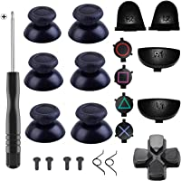 Yosikr Pairs Thumbsticks Joystick for Playstation 4 PS4 Controller with Cross Screwdriver + L2 R2 L1 R1 Trigger…