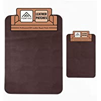 Brown Leather Repair Kits For Couches, Leather Patch, Vinyl Repair Kit - Leather Repair Kit for Car Seats, Vinyl…