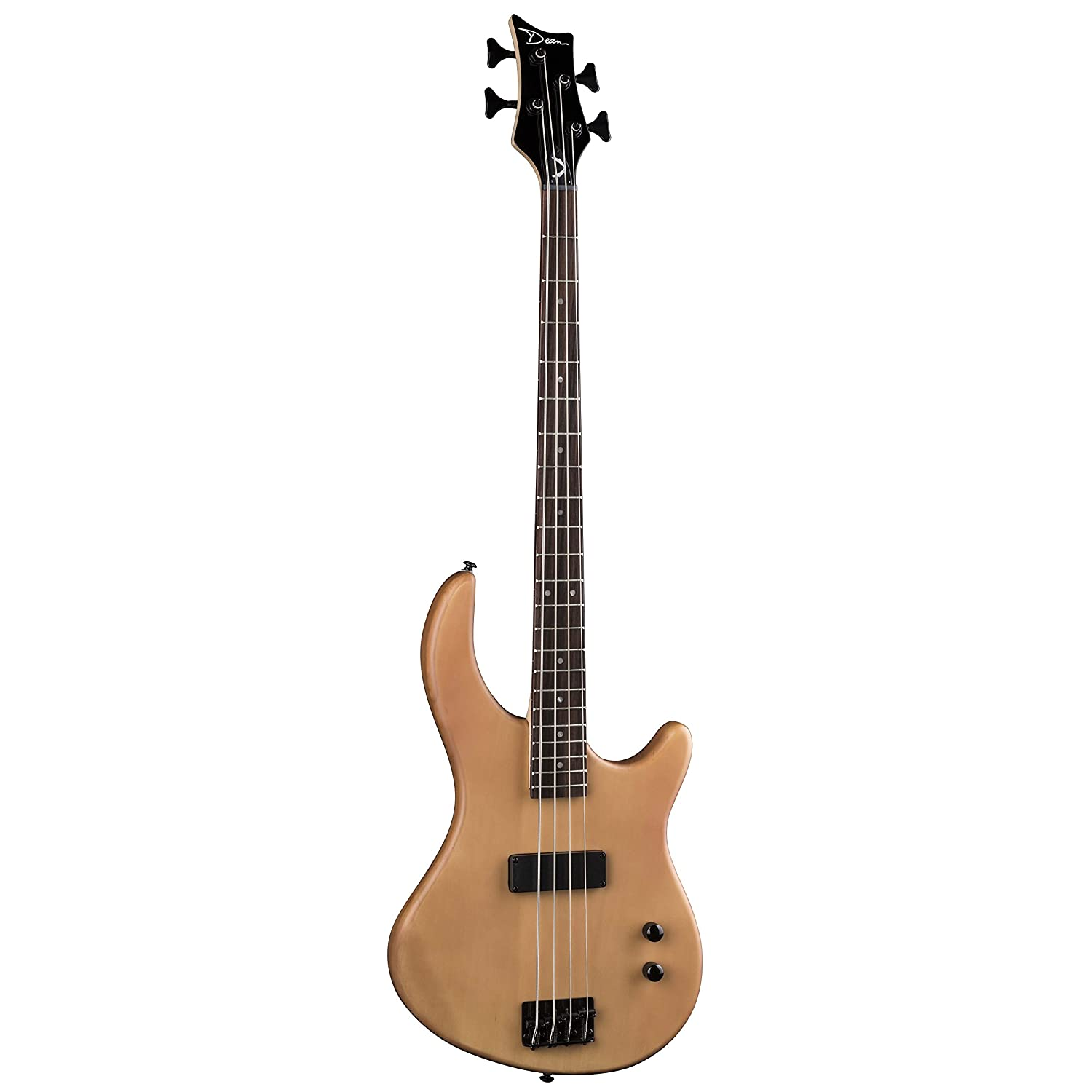 Amazon.com: Dean E09M Edge Mahogany Electric Bass Guitar - Natural: Musical  Instruments