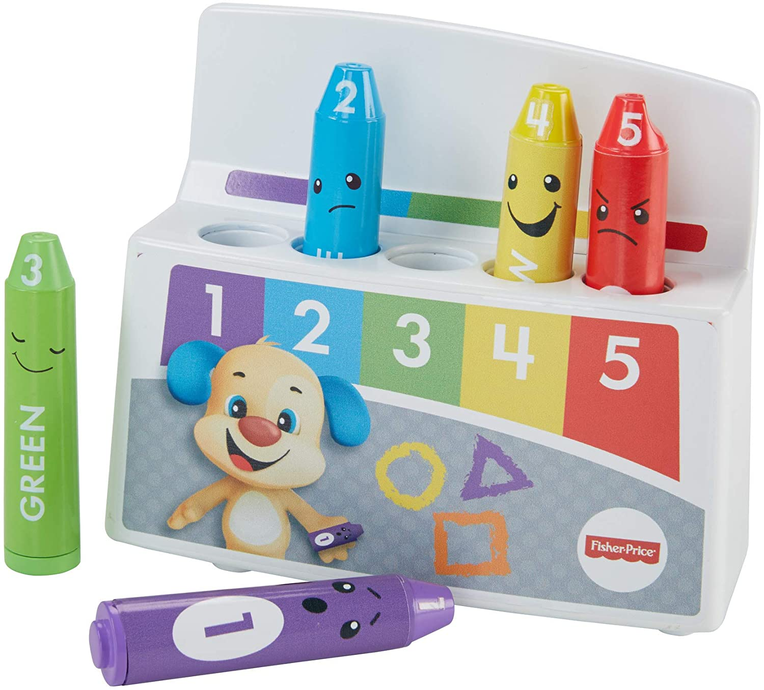 Fisher-Price drf67 Laugh and Learn Colourful Estados de ánimo Ceras