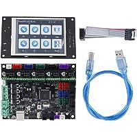 Eboxer MKS Gen-L V1.0 Tablero de Control para Impresora 3D con Interfaz WiFi, 3,2 in Módulo de Pantalla Táctil TFT HD a Todo Color MKS, Soporte U Disco y Tarjeta SD