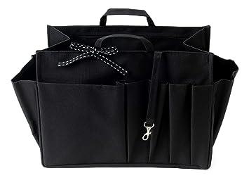 Organizador Bolso - Bolsa Organizadora - XL Negro - Tamaño XL : 26 cm de largo x 19 cm de alto x 12 cm de ancho: Amazon.es: Equipaje