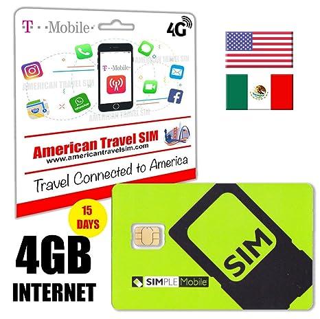Tarjeta SIM Prepago con 4GB de INTERNET y 4G / LTE de ...