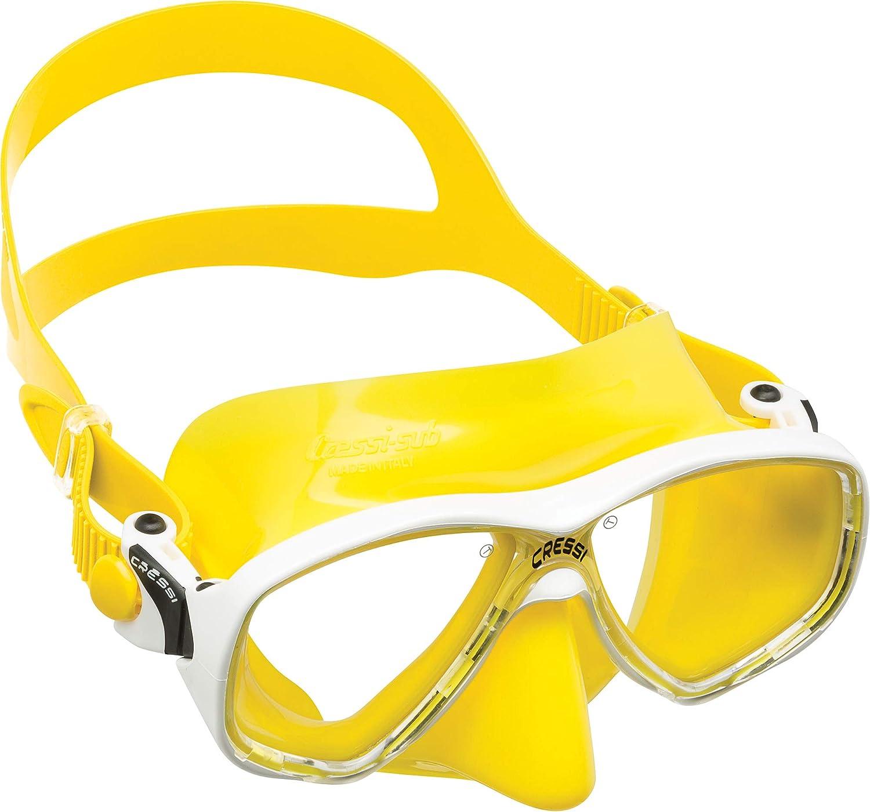 Gafas y Tubo de Snorkel Unisex Adulto Cressi