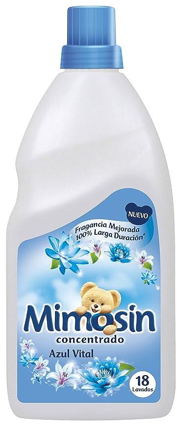 Mimosín Azul Vital Suavizante Concentrado para 18 lavados - 1 Botella