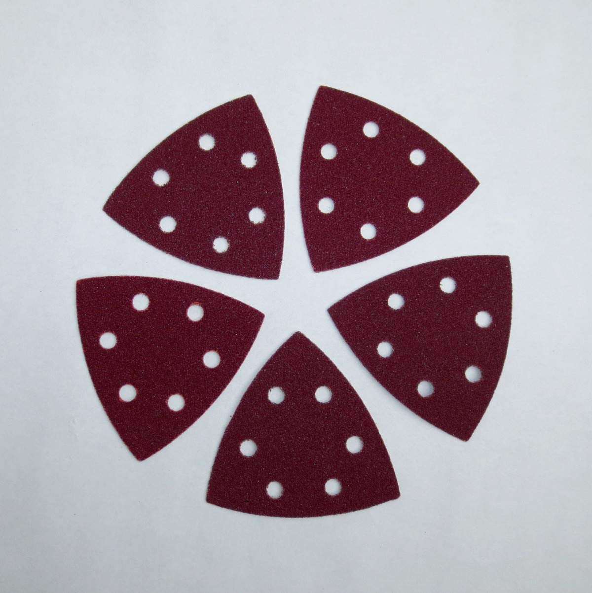100 molienda triangular 6 agujeros de terciopelo 93 x 93 x ...