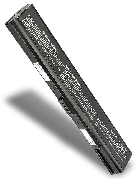 Classic – Batería de repuesto para ordenador portátil ASUS 70-NDD1B1000 (5200 mAh/