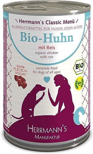 Herrmanns-Bio-Hundefutter-Nassfutter