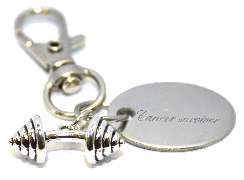 Amazon.com: Llavero con pesas para sobrevivientes del cáncer ...