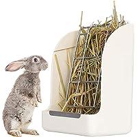 Höstoppar för kanin, hare hö feeder höstoft kanin hamster matare bärbar hövskörd foderkrubba håller dig ren och minskar…