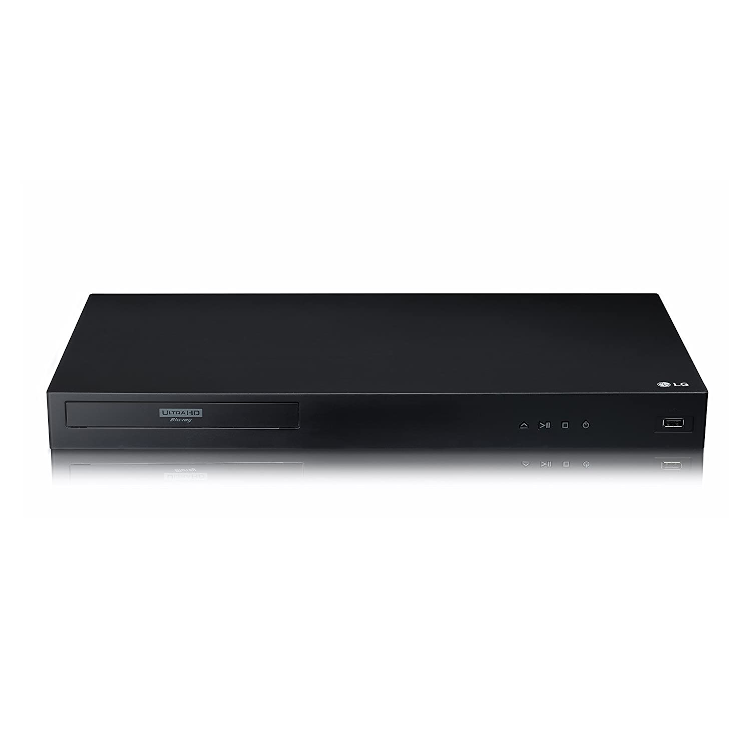 LG UBK80 4K Ultra-HD Blu-ray Player with HDR Compatibility (2018)