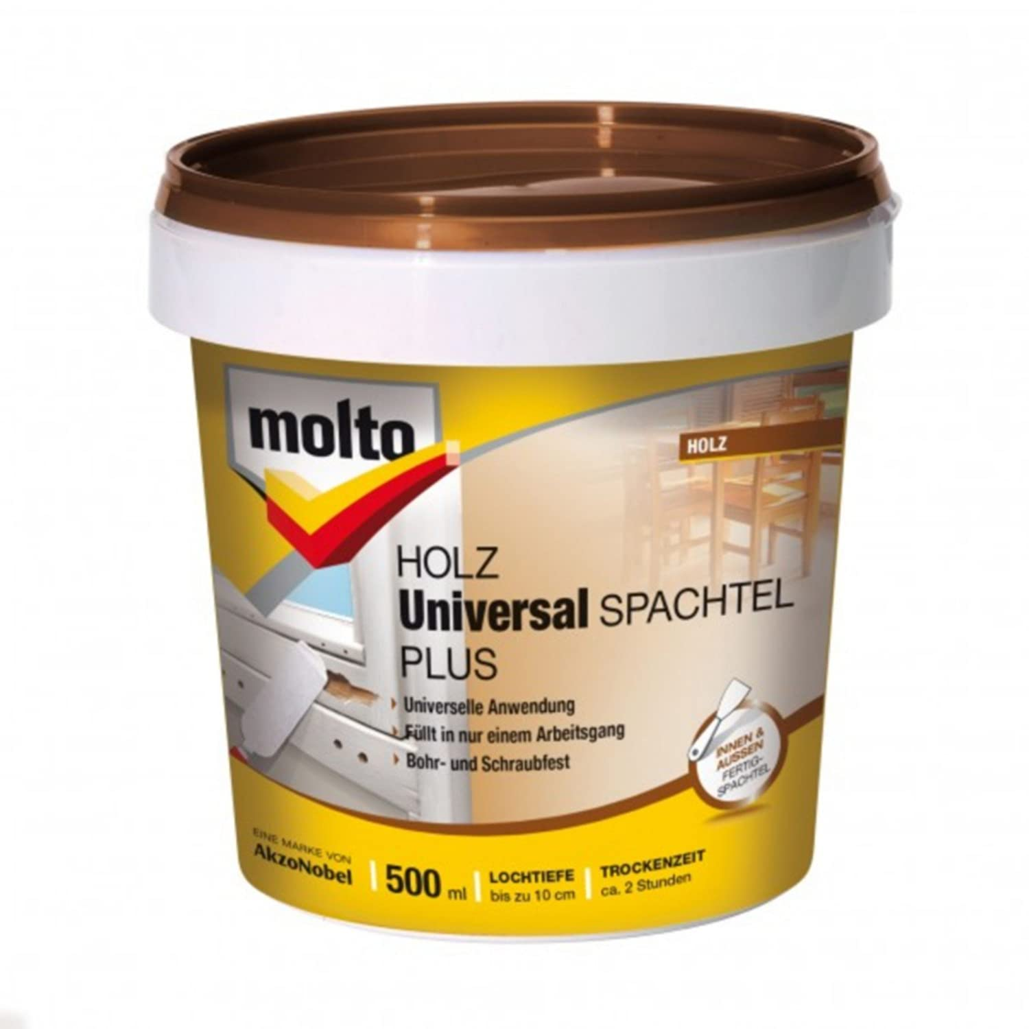 Molto Holz Universal Spachtel Plus, 500 ml Akzo Nobel