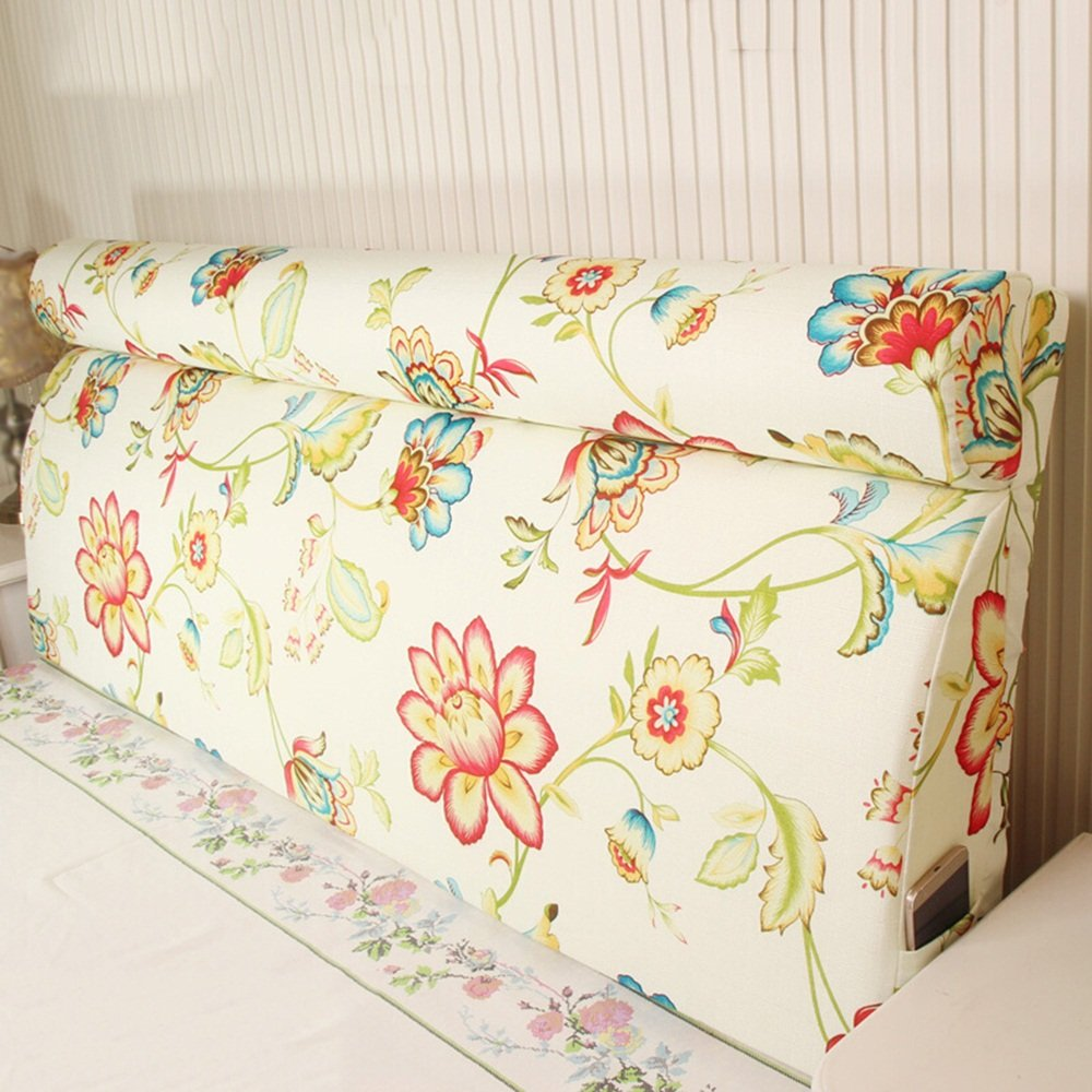 Solid wood bed soft bag / removable bed on the back by the bag / bedside back pad / ( Size : 20060cm )