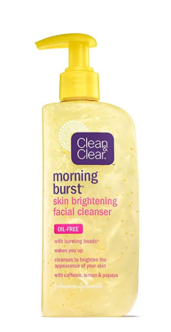 Clean & Clear Morning Burst Skin Brightening Cleanser, 8 Ounce By Clean Clear LOreal Paris Age Perfect Cell Renewal Rosy Tone Mask, 1.7 oz