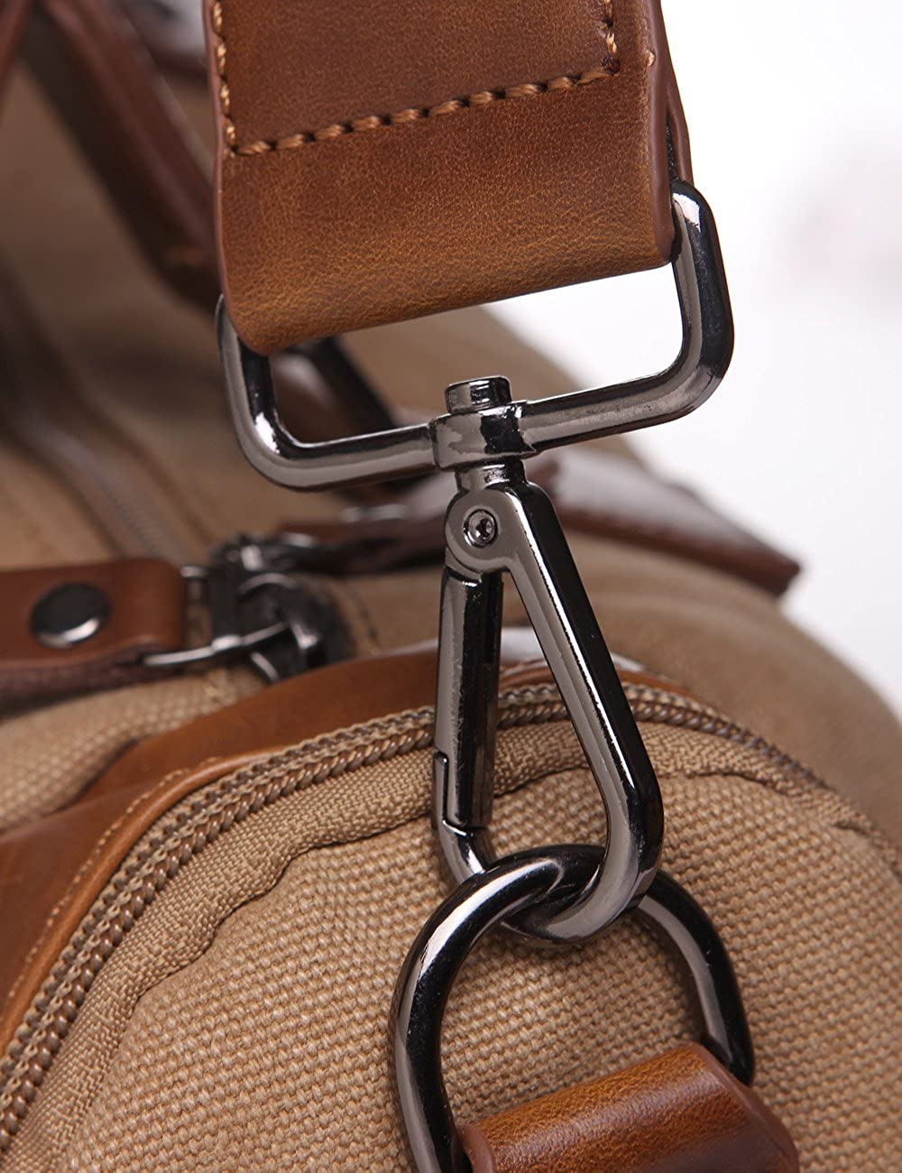 Genda 2Archer Vintage Unisex Canvas Messenger Bag Shoulder Bag Handbag Travelling Bag