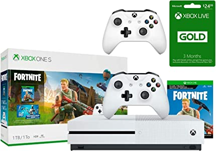 Amazon.com: Xbox One S Fortnite Eon Cosmetic Epic Bundle ...