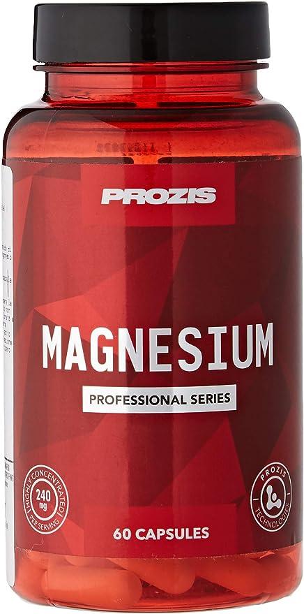 Prozis Magnesio - 60 Cápsulas: Amazon.es: Salud y cuidado personal