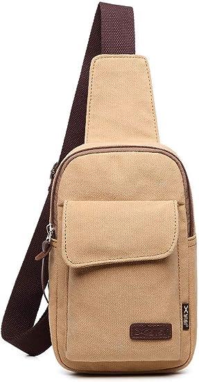 GJBXP Sling Bag Men Chest Pack Multiuso Crossbody Shoulder Bag One ...