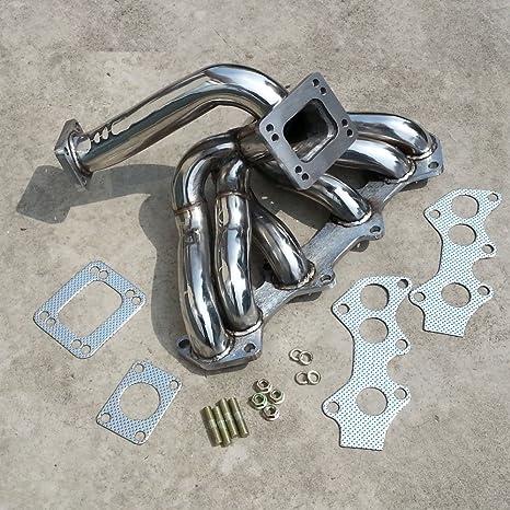 Colectores de Escape Turbo turbina del turbocompresor para Toyota Supra 1jzgte 1JZ jzx100 Vvti Turbos inoxidable