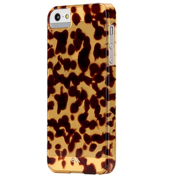 best website bd039 46f71 Amazon.com: Case Mate Case-Mate iPhone 5 Tortoise shell - Brown ...