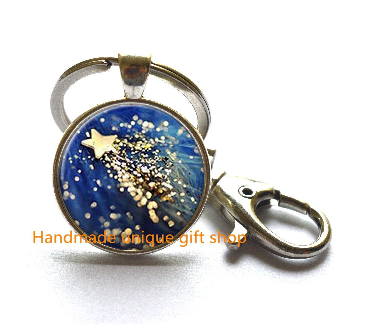Diseño de llavero, delicado llavero y # xFF0 C; estrellas ...