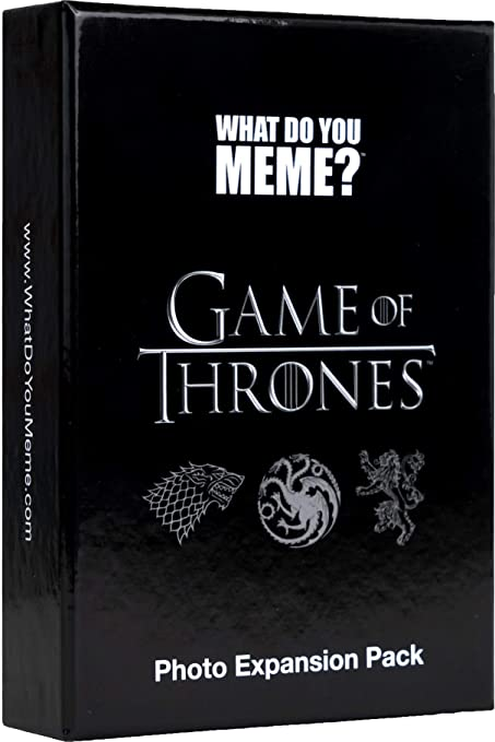 Amazon Com What Do You Meme Game Of Thrones Expansion Pack Toys