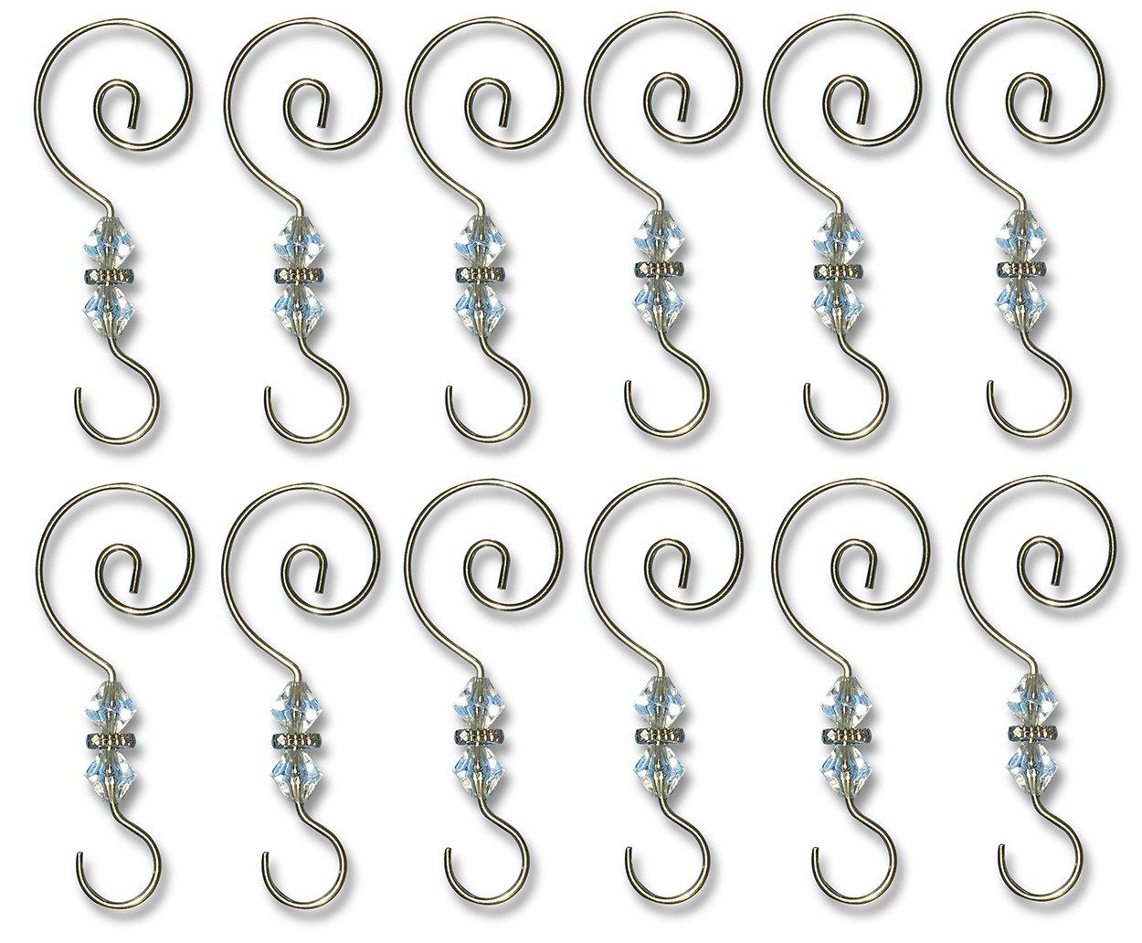 Heavy duty ornament hooks - Amazon Com Ornament Hooks 12 Pack Decorative Christmas Tree Ornament Hangers Home Kitchen