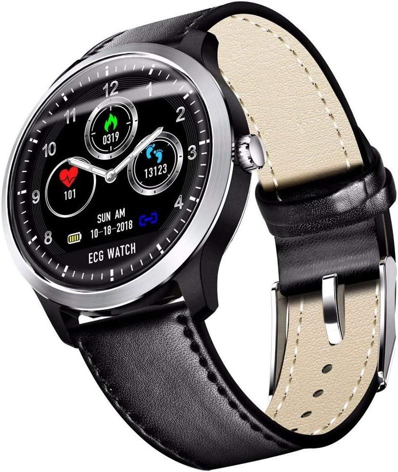 Amazon.com : ANMY ECG Pulsera Inteligente ECG+PPG Monitor ...