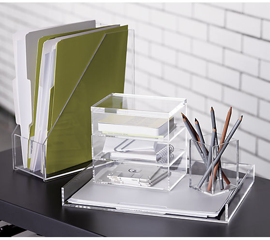 format stacking boxes set of 3 | CB2