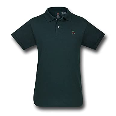 STAR WARS Boba Fett Polo - - Verde-Militar: Amazon.es: Ropa y ...