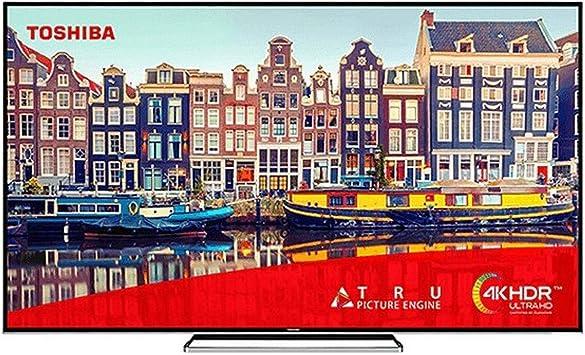 TELEVISOR TV 75 UHD Smart TV BT Grabador TOSHIBA: Amazon ...
