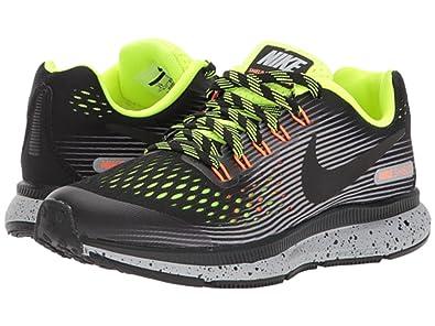 Nike Zoom Pegasus 34 Shield (Gs) Negro ymWF8RqrJ