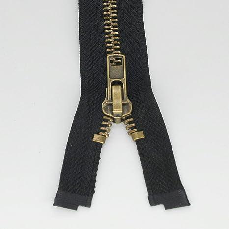 #8 Antique Brass slider Heavy Duty for metal zipper New!