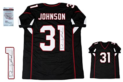 f7f0845913a Image Unavailable. Image not available for. Color: David Johnson  Autographed SIGNED Custom Jersey - JSA Witnessed Authentic ...