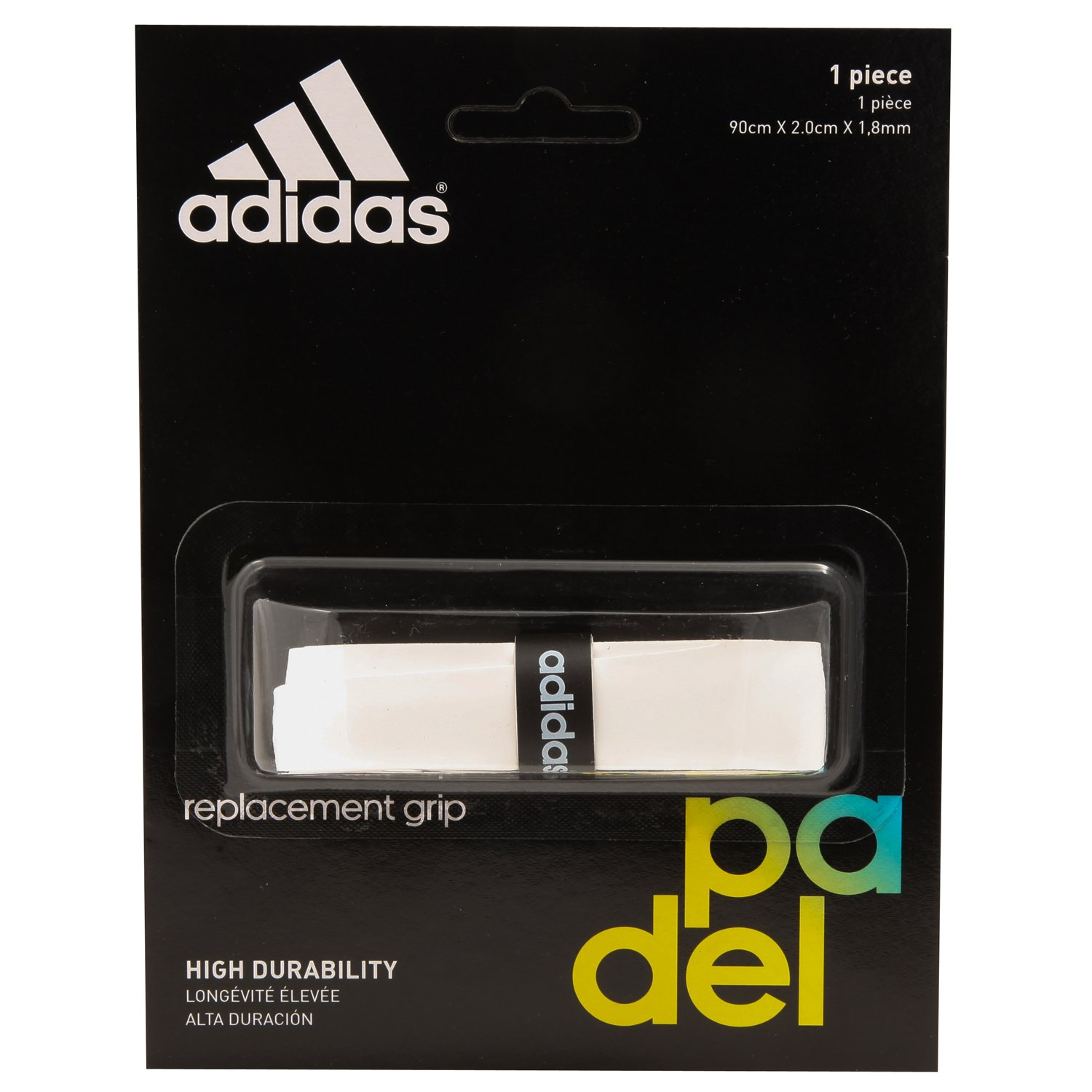 adidas Padel - Grip Logo Performance, Color White: Amazon.es ...