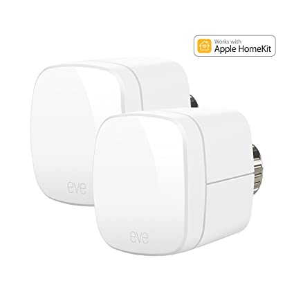 Elgato Eve térmica – Termostatos con Apple homekit de soporte, Bluetooth Low Energy, 1ET109907010