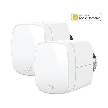 Elgato Eve térmica – Termostatos con Apple homekit de soporte, Bluetooth Low Energy, 1ET109907010