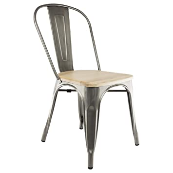Chaise Privee TOLIX Einem Stuhl Holz Sitz