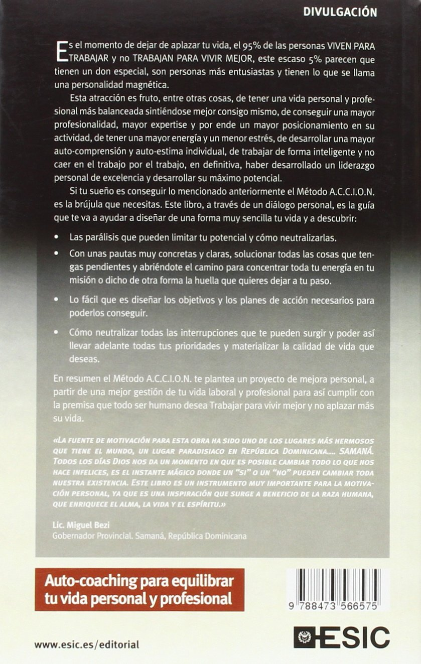 Auto-Coaching. Método A.C.C.I.O.N. (Divulgación): Amazon.es: Francisco Javier González Galán: Libros