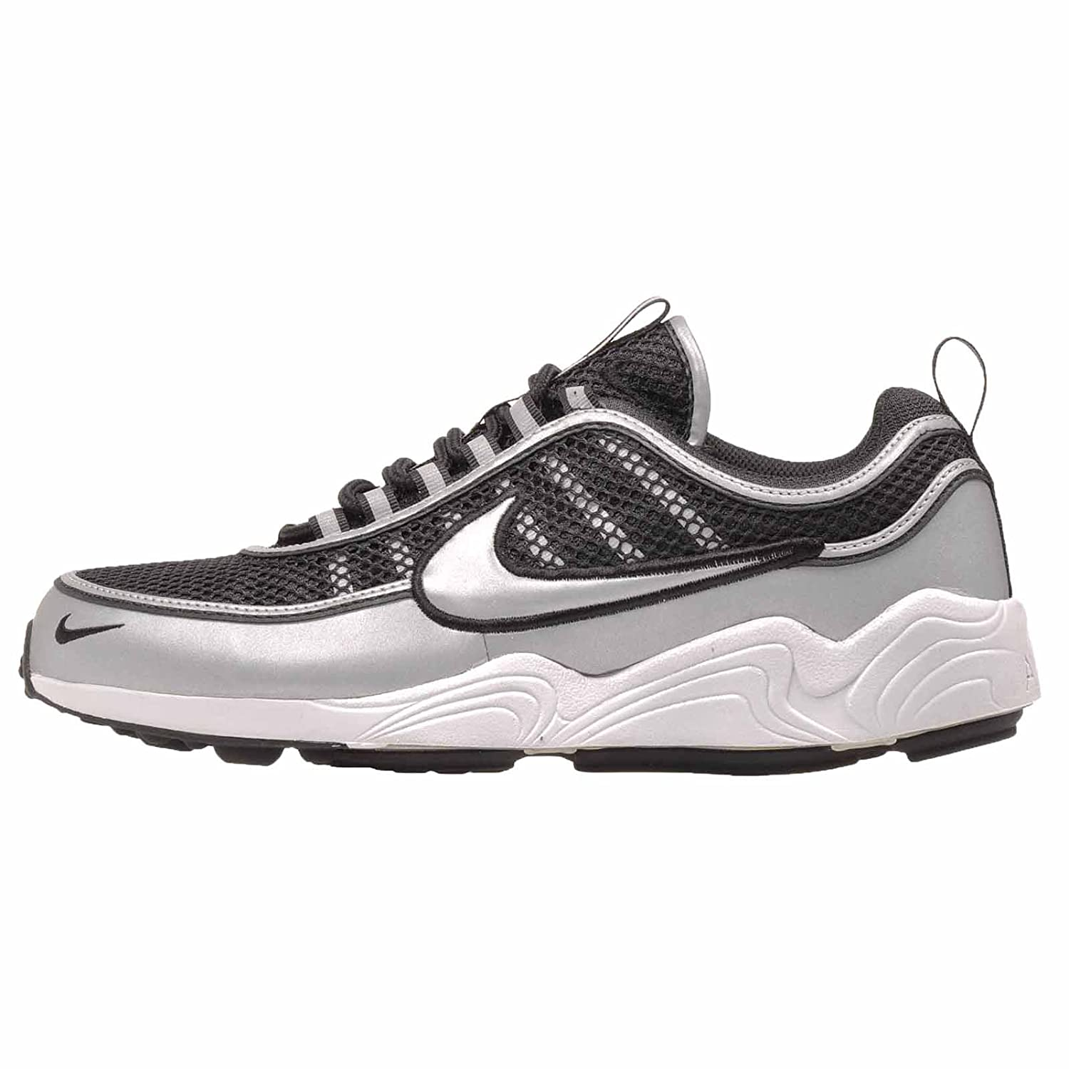 save up to 80% shopping wide varieties Nike Men's Air Zoom Spiridon 16, Black/Metallic Silver, 13 ...
