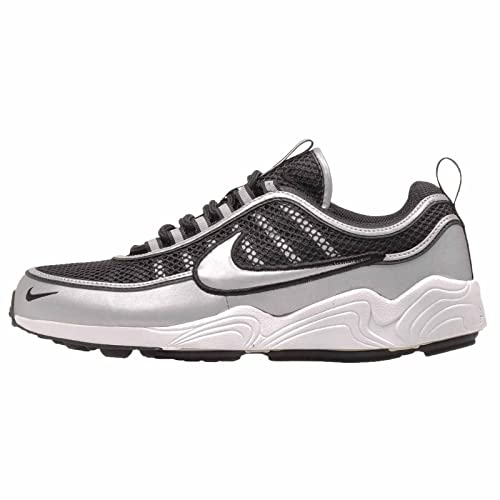 e753588cec5a5 Nike Men's Air Zoom Spiridon 16, Black/Metallic Silver: Amazon.co.uk ...