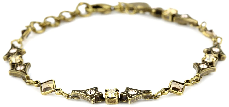 "Sorrelli ""Raw Sugar"" Slim Line Arrowhead Bracelet, 7.25"""