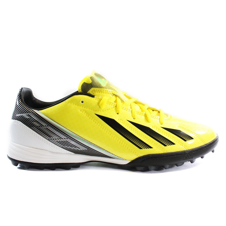 on sale 3b0f6 07c59 Amazon.com   adidas F10 TRX TF Soccer Shoe - Bright Yellow Black Silver  (Men) - 10.5   Shoes