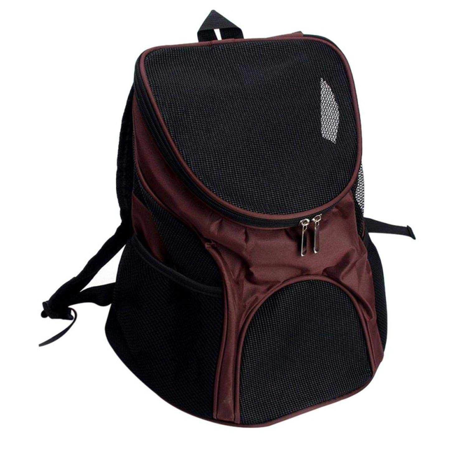 222a915f712b Amazon.com : LIAOYLY Portable Breathable Grid Bag Pet Out Carrying ...