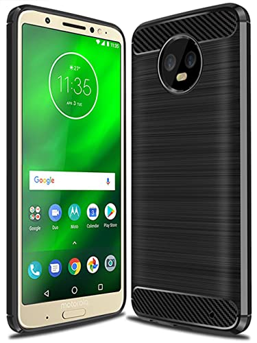 Amazon.com: Moto G6 Plus Case, Moto G Plus (6th Generation) case,Moto G6+ Case, Suensan TPU Shock Absorption Technology Raised Bezels Protective Case Cover ...