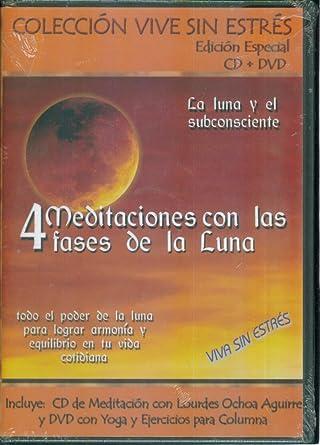 Amazon.com: 4 MEDITACIONES CON LAS FASES DE LA LUNA CD AND ...