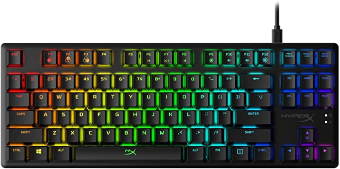 HyperX Alloy Origins Core  Tenkeyless Mechanical Gaming Keyboard Software Controlled Light amp Macro Customization Compact Form Factor RGB LED Backlit at Kapruka Online for specialGifts