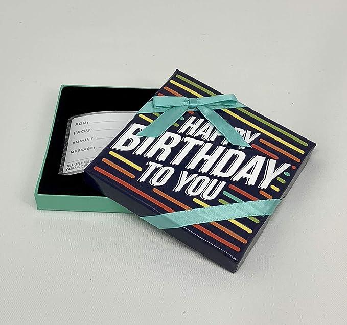 Amazon.com: Tarjeta de felicitación de cumpleaños con globos ...