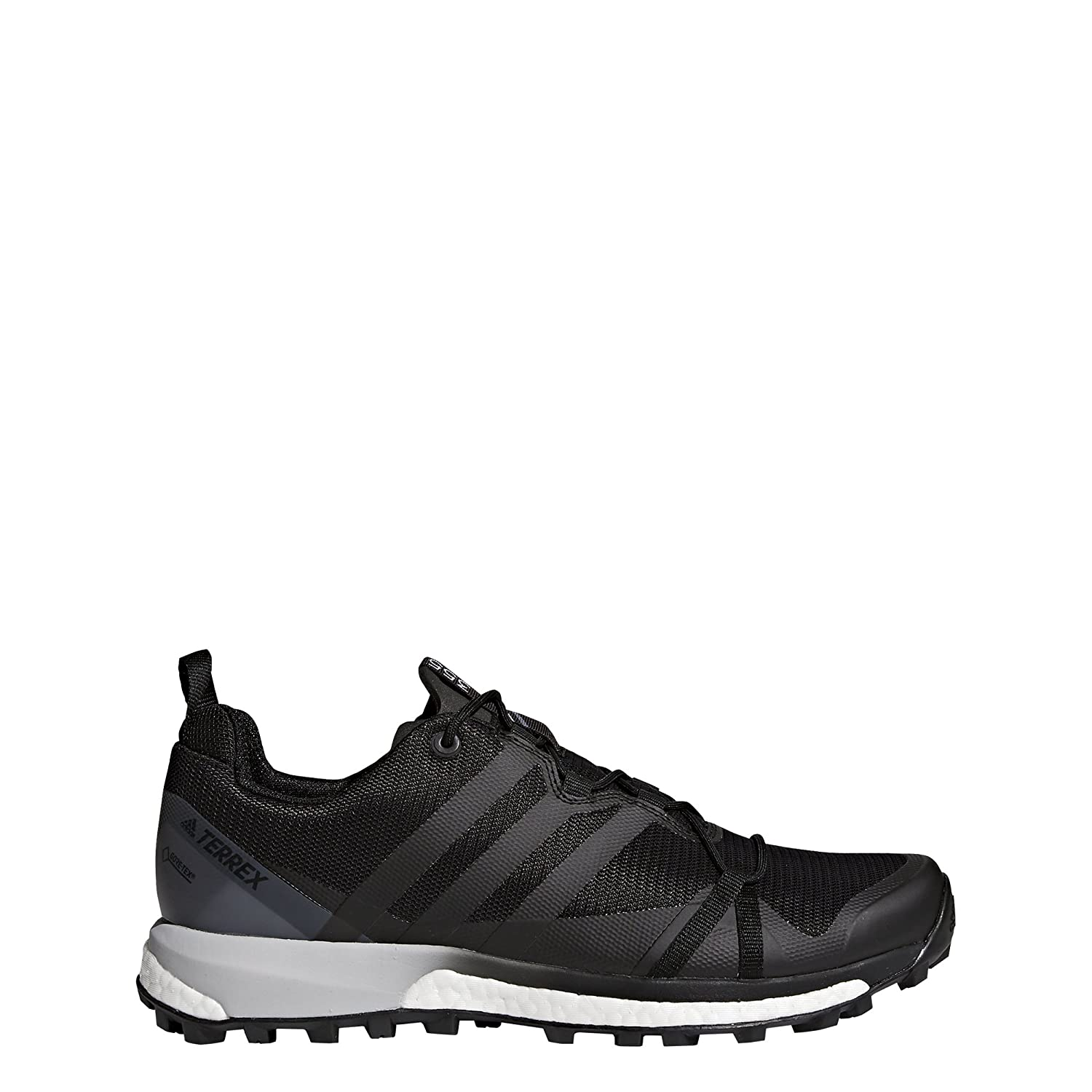 adidas outdoor Men's Terrex Agravic GTX Black/Black/White 10 D US