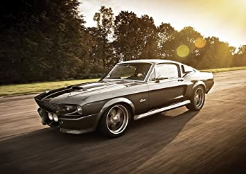 1967 FORD SHELBY MUSTANG GT500 ELEANOR POSTER (A1(841X594MM